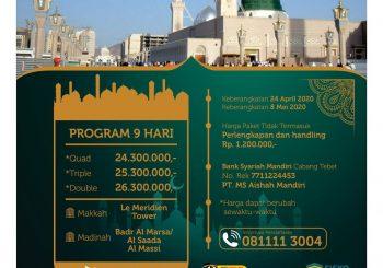 Umrah 24 April 2020 (Umrah Awal Ramadhan)